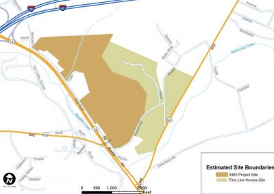 I 80 & Rt 54 Danville PA – 130 Acres Highway Commercial